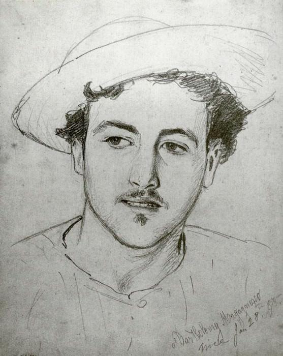Bartholomy Magagnosco. John Singer Sargent