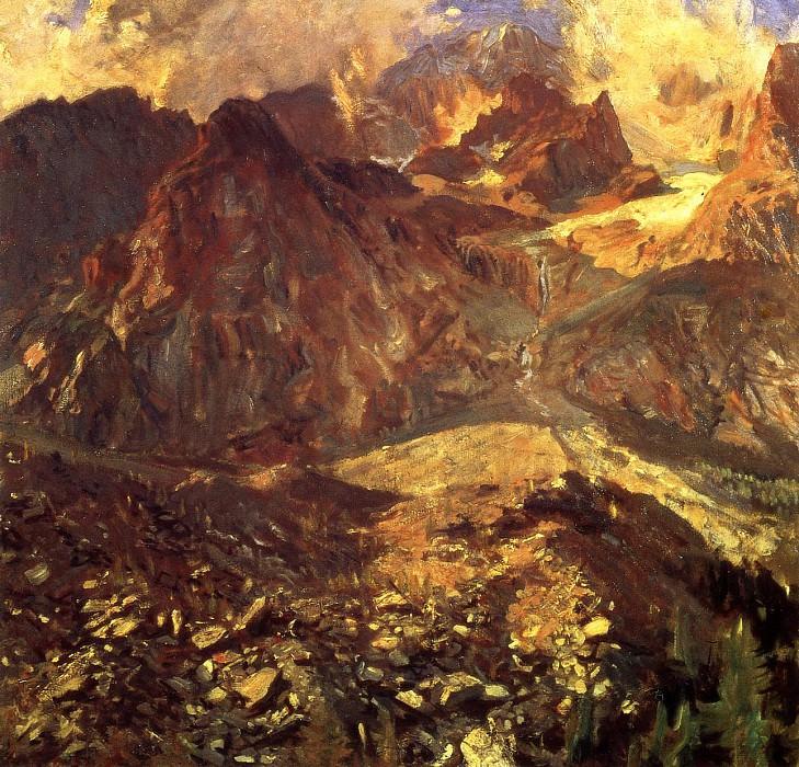 Val dAosta. John Singer Sargent
