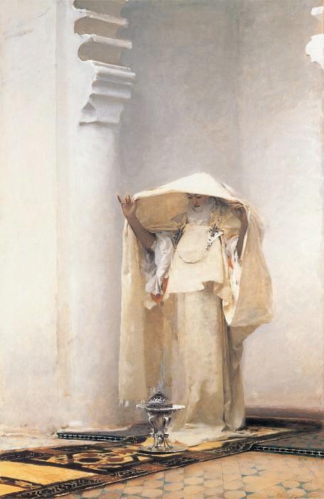 Fumee dambre gris. John Singer Sargent