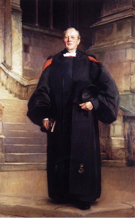 Reverend Edmond Ware. John Singer Sargent