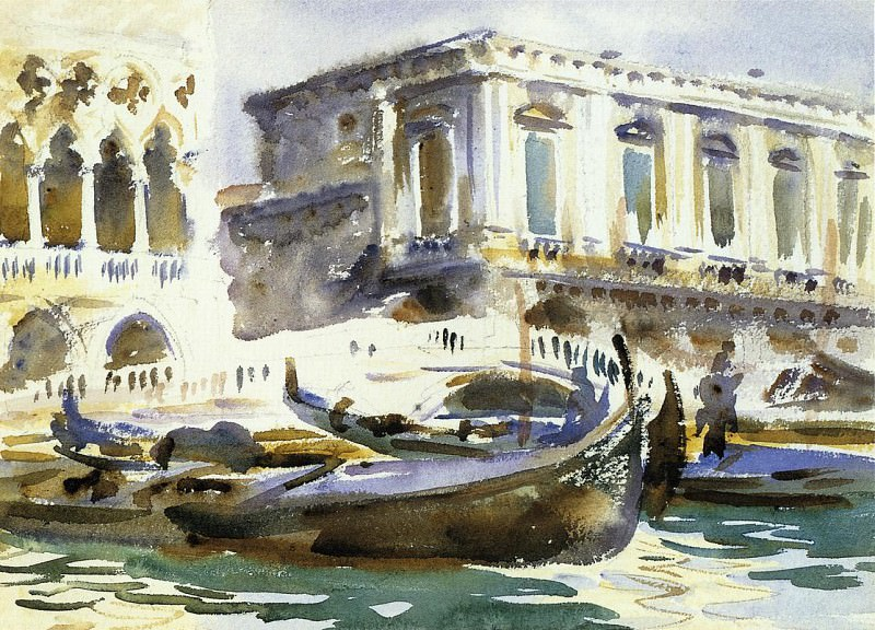 Venice. The Prison. John Singer Sargent