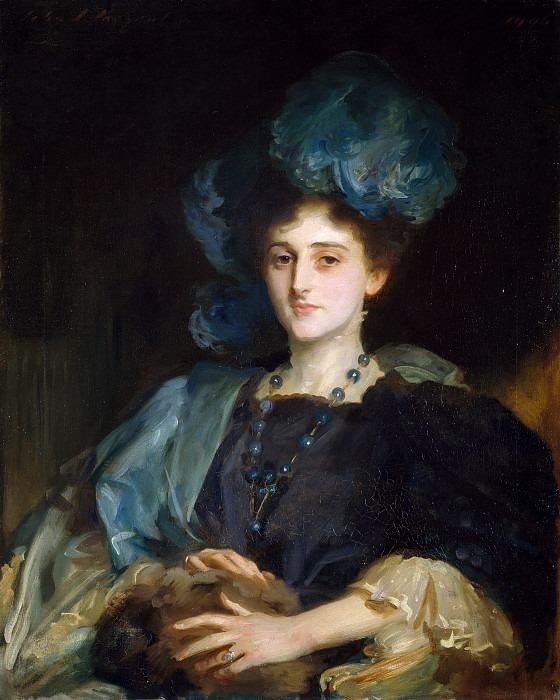 Katherine Lewis. John Singer Sargent