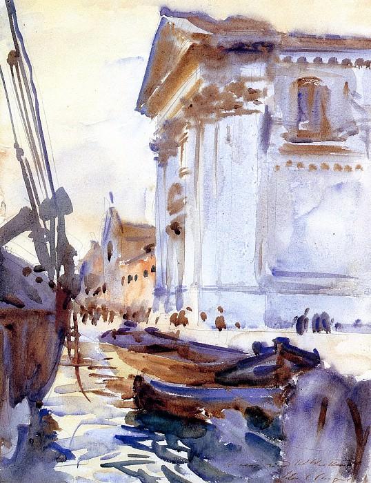 I Gesuati. John Singer Sargent
