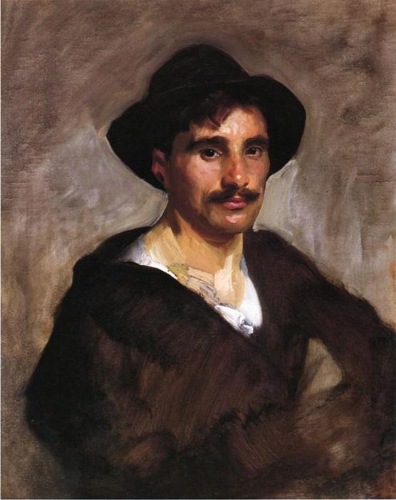 Gondolier. John Singer Sargent