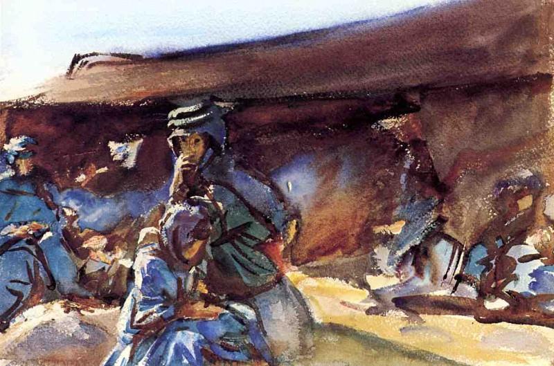 Black Tent. John Singer Sargent