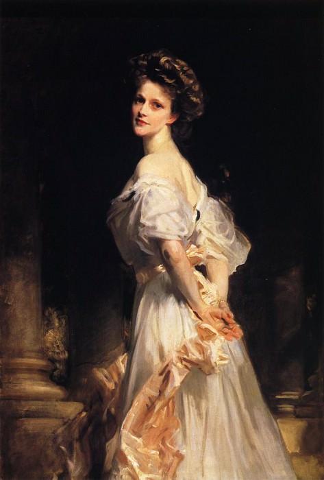 Mrs. Waldorf Astor (Nancy Langhorne). John Singer Sargent