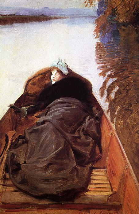 Autumn on the River (also known as Miss Violet Sargent). John Singer Sargent