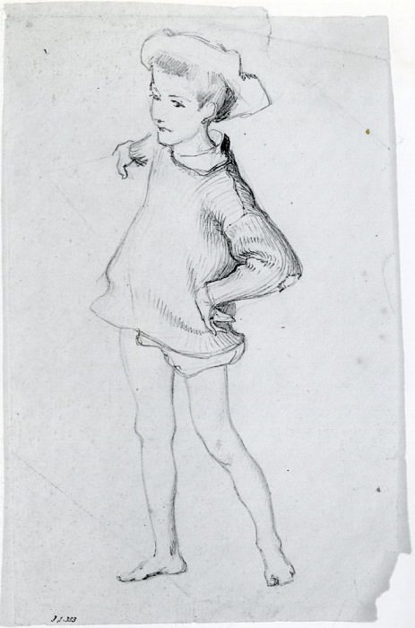 Figure of a Child. John Singer Sargent
