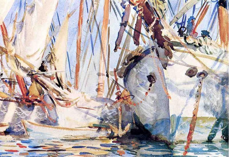 White Ships. John Singer Sargent