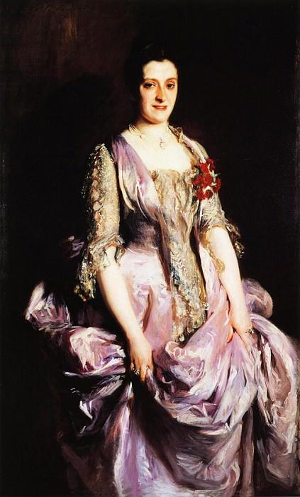 Mrs. Benjamin Kissam. John Singer Sargent