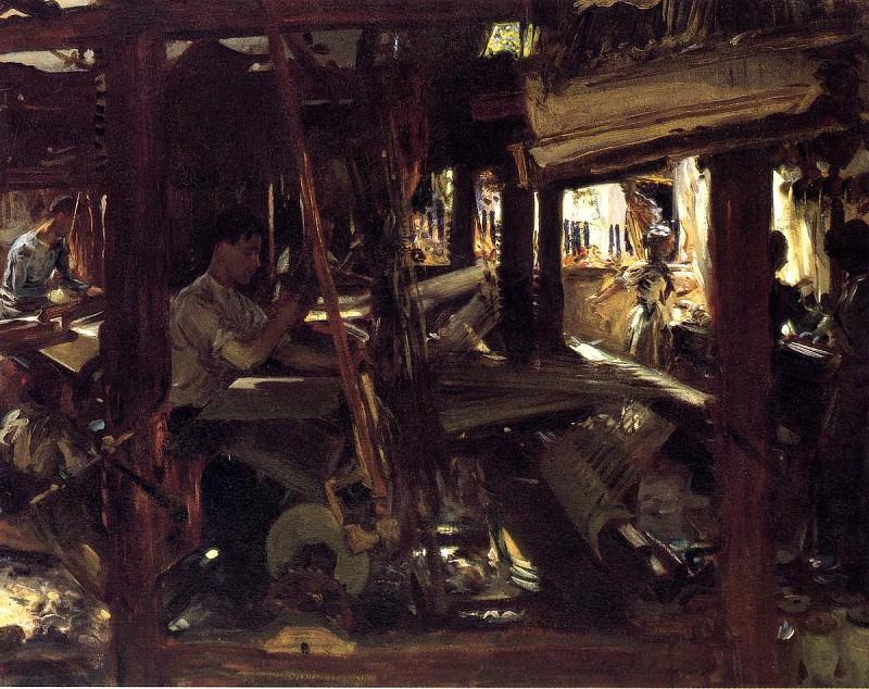 Granada. The Weavers. John Singer Sargent