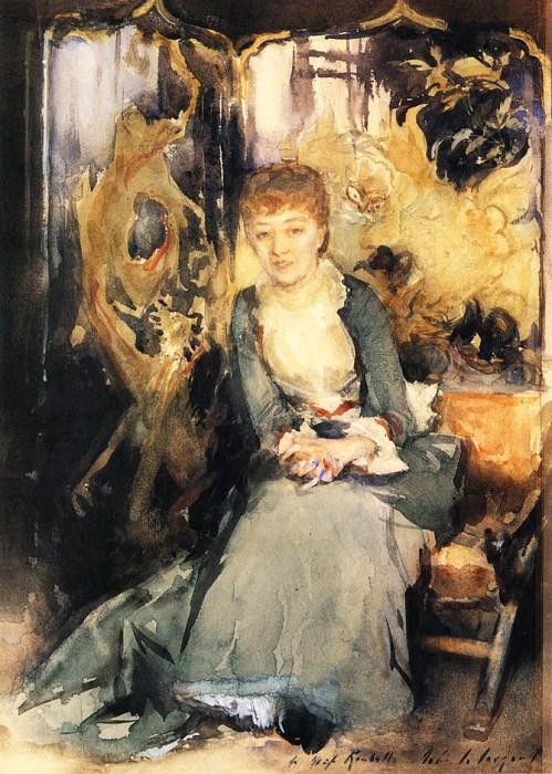 Henrietta Reubell. John Singer Sargent