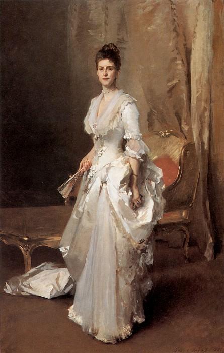 Mrs. Henry White. John Singer Sargent