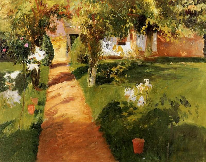 Millets Garden. John Singer Sargent