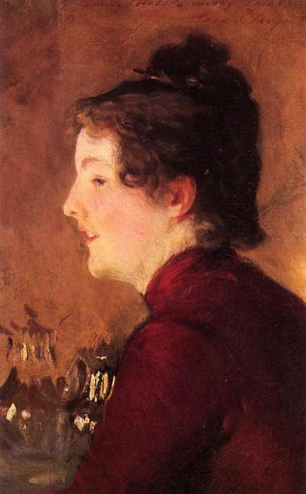 A Portrait of Violet. John Singer Sargent