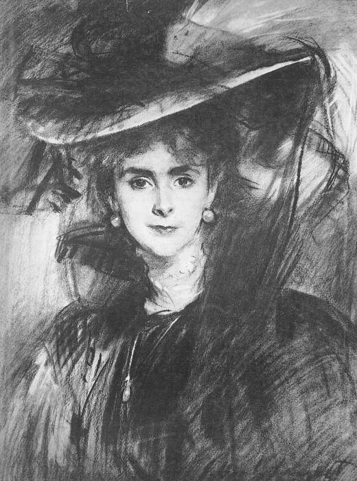 Baroness de Meyer. John Singer Sargent