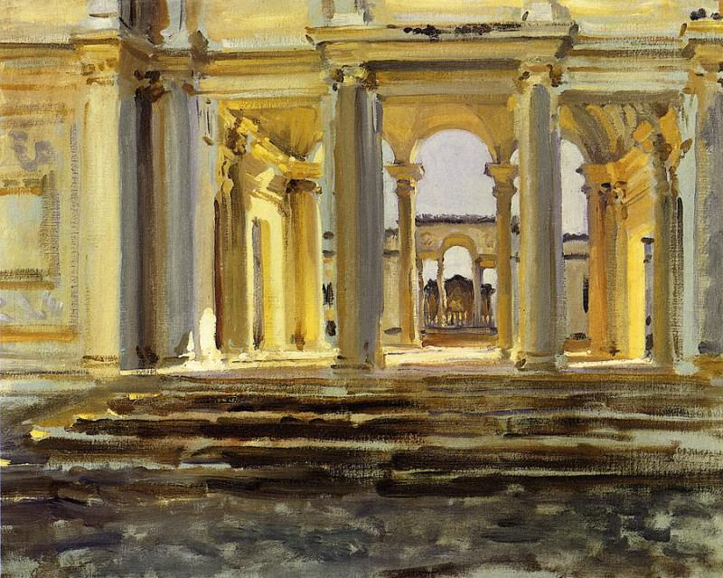 Villa Papa Giulla. John Singer Sargent