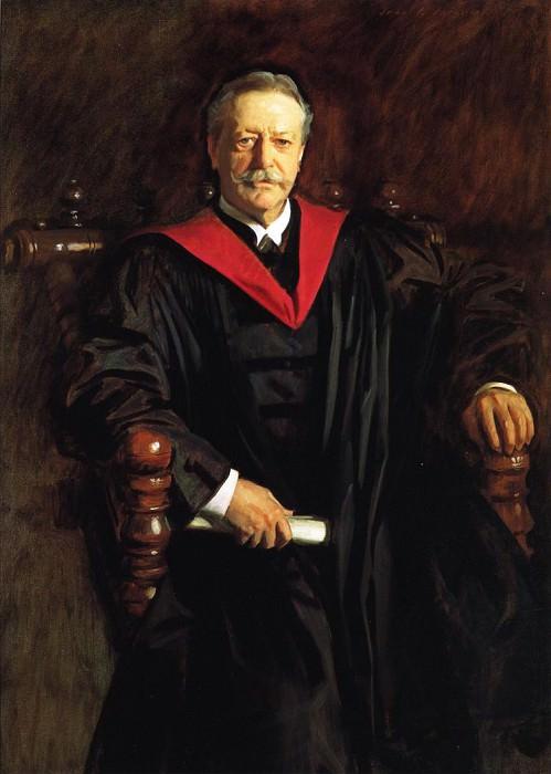 Abbott Lawrence Lowell. John Singer Sargent