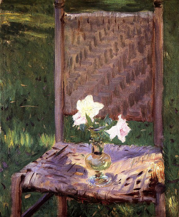 The Old Chair. John Singer Sargent