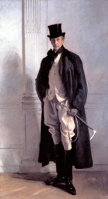Lord Ribblesdale. John Singer Sargent