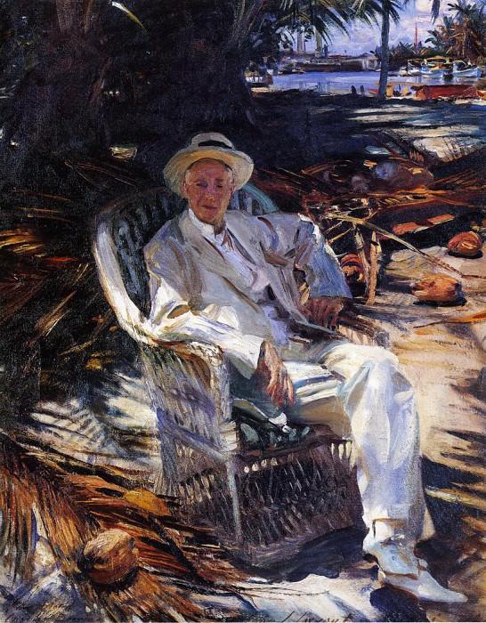 Charles Deering. John Singer Sargent