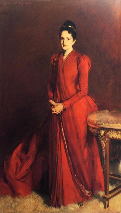 Mrs. Elliott Fitch Shepard. John Singer Sargent