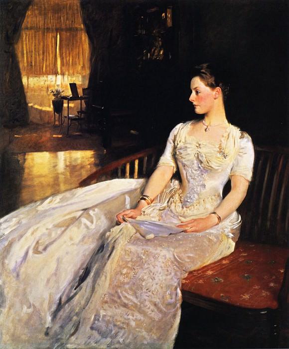 Mrs. Cecil Wade. John Singer Sargent