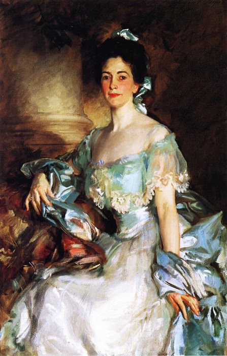 Mrs. Abbott Lawrence Rotch. John Singer Sargent