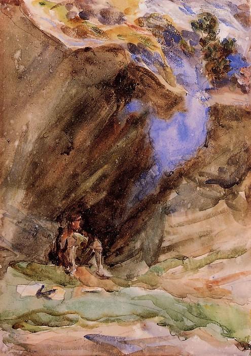 Bivouac. John Singer Sargent