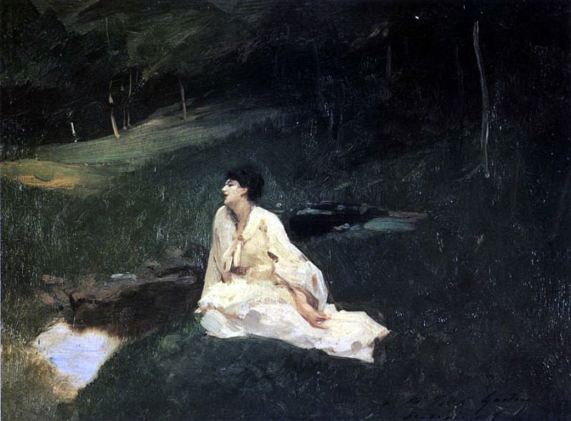 Judith Gautier. John Singer Sargent