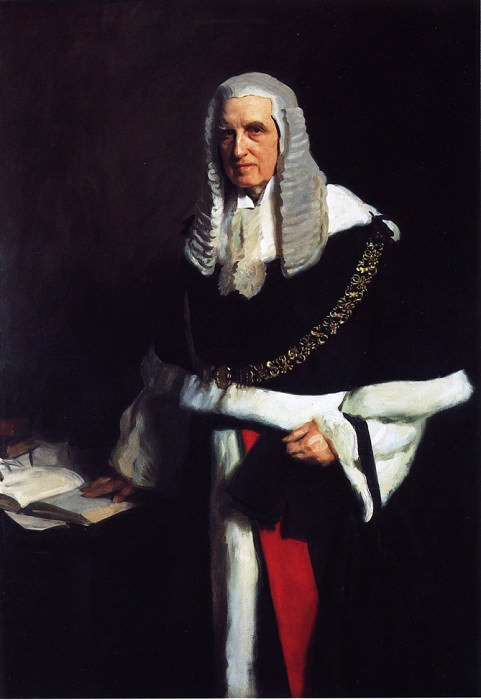 Lord Russell of Killowen. John Singer Sargent