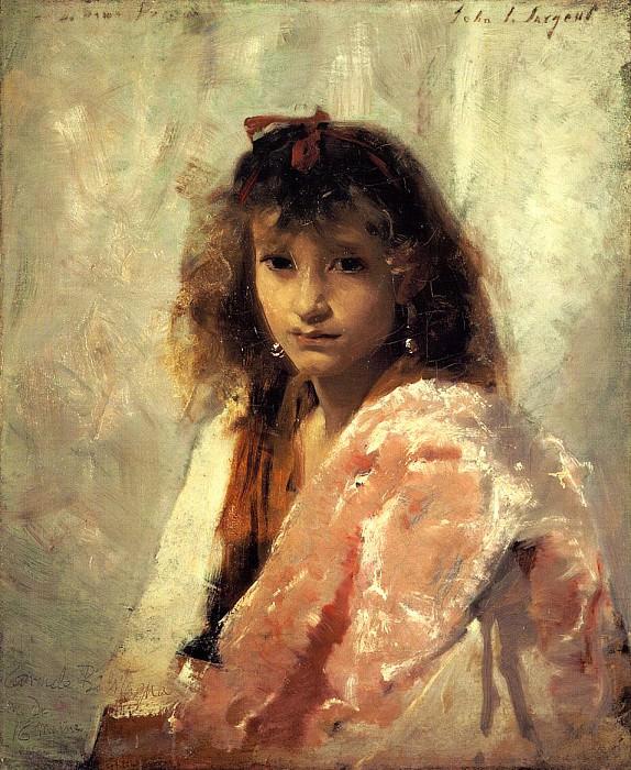 Carmela Bertagna. John Singer Sargent