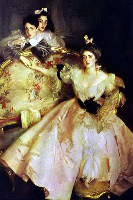 Mrs. Carl Meyer and Her Children.. John Singer Sargent