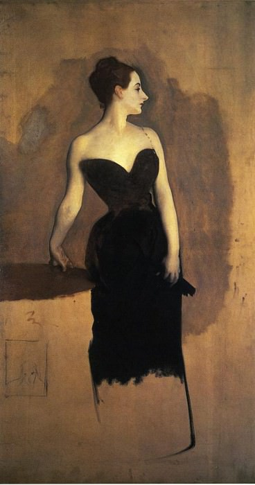 Madame Gautreau (unfinished). John Singer Sargent
