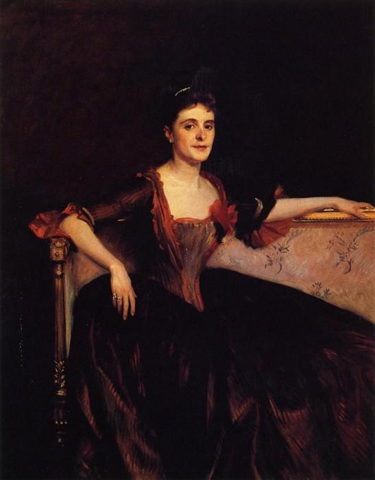 Mrs. Thomas Lincoln Manson Jr (Mary Groot). John Singer Sargent
