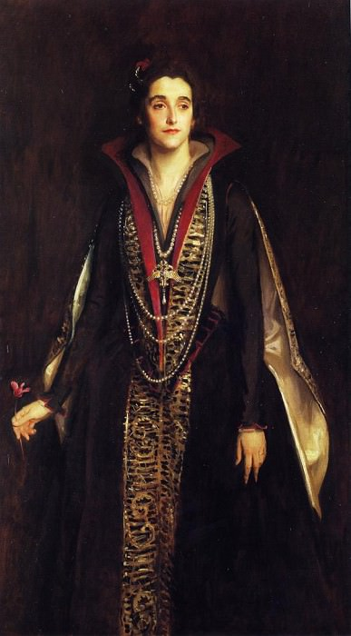 The Countess of Rocksavage. John Singer Sargent