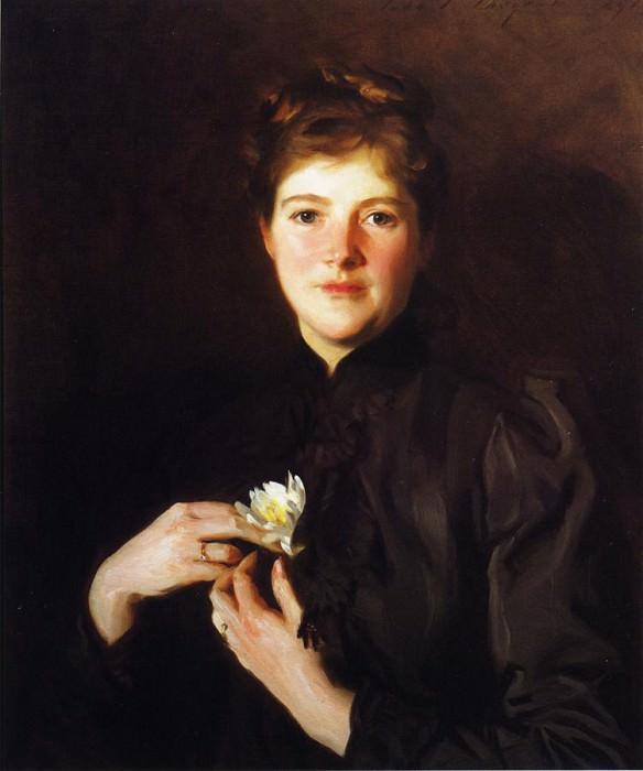 Mrs. Augustus Hemenway. John Singer Sargent
