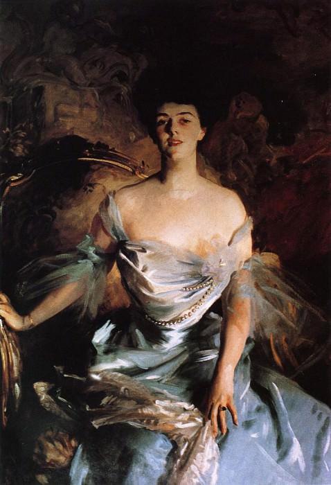 Mrs. Joseph E. Widener. John Singer Sargent
