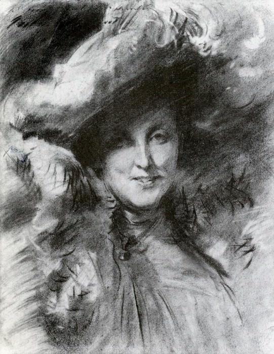 Mrs. Charles Hunter. John Singer Sargent