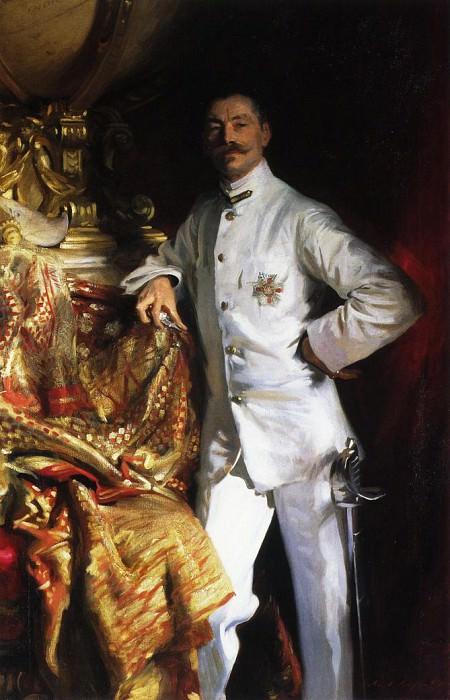 Sir Frank Swettenham. John Singer Sargent