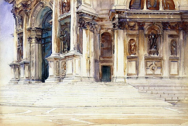 Церковь Санта Мария делла Салуте. Джон Сингер Сарджент