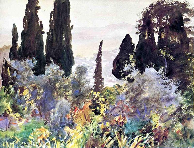Granada. John Singer Sargent