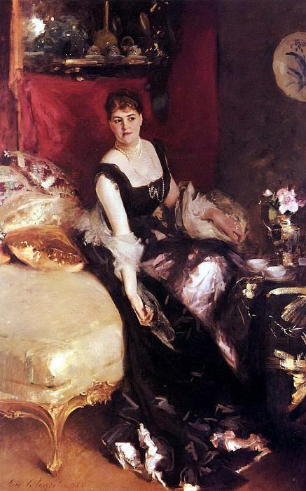 Mrs. Kate A More. John Singer Sargent