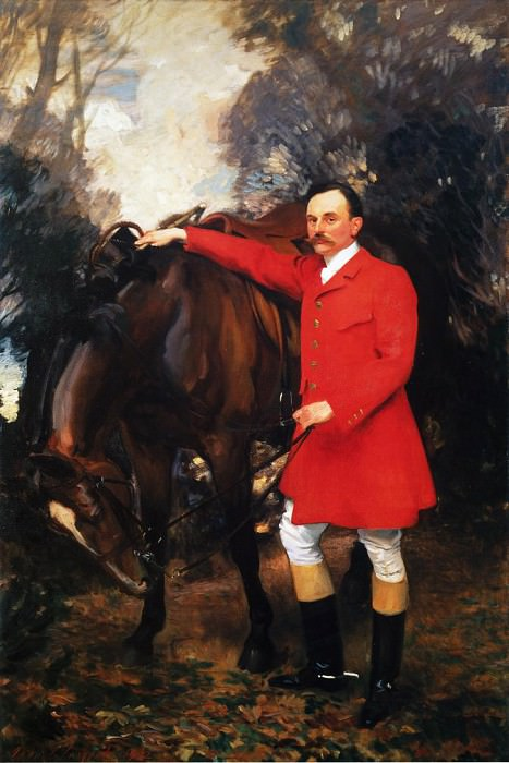 William Marshall Cazalet. John Singer Sargent