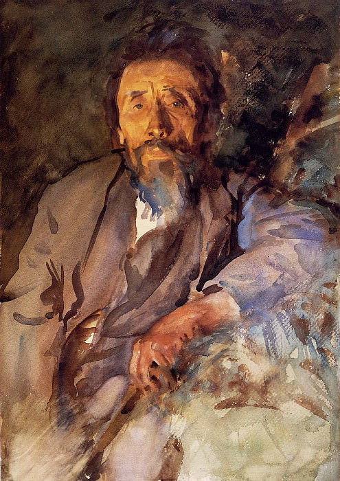 The Tramp. John Singer Sargent