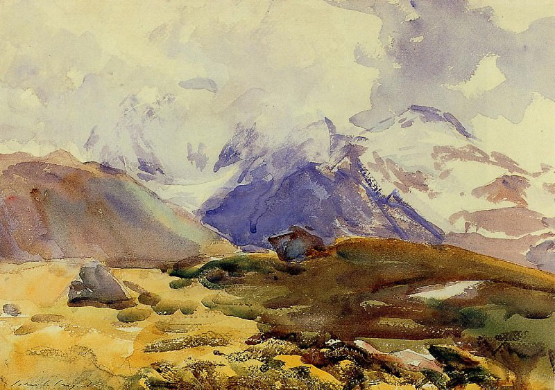 The Simplon. John Singer Sargent