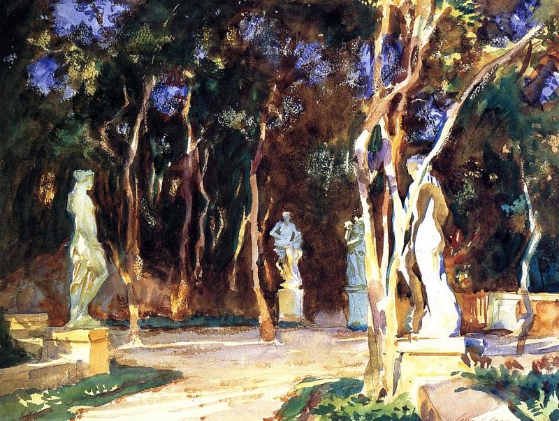 Shady Paths. John Singer Sargent