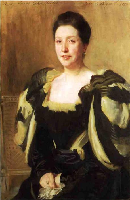 Mrs. Colin Hunter. John Singer Sargent