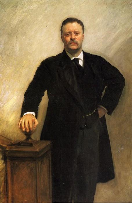Президент Теодор Рузвельт. Джон Сингер Сарджент