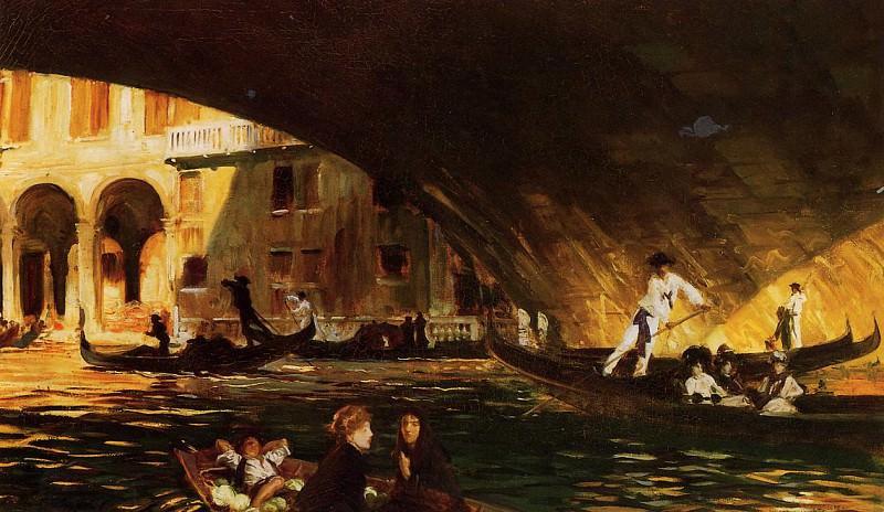 The Rialto. John Singer Sargent